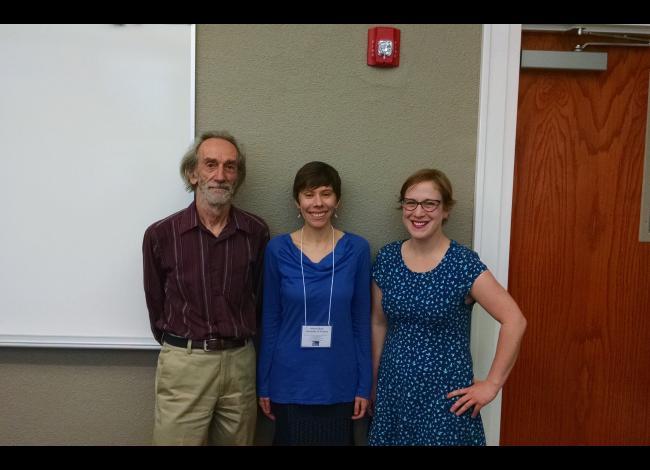 David Chorlton, Wendy Burk, and Erin Renee Wahl.